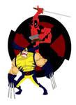 Wolvie vs Deadpool