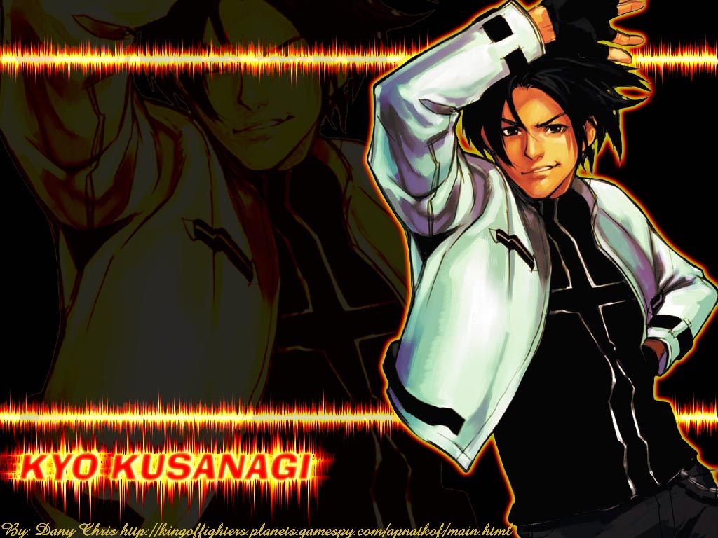 King Of Fighters Wallpaper Kyo