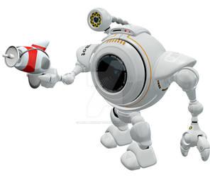 Robo Web Cam Ray Gun