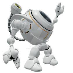 Robo Web Cam Reaching Up