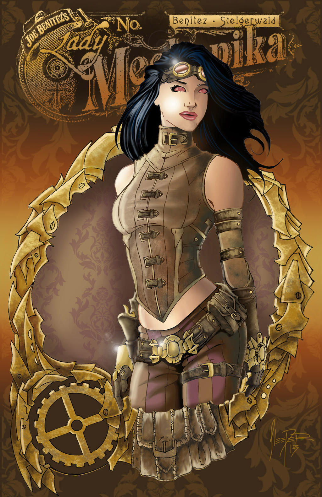 Lady Mech. by wasleeper