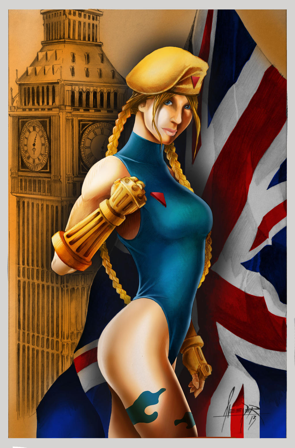 Cammy color by wasleeper