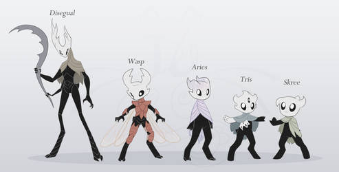 Some Vessel OCs restyled