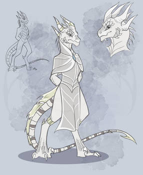 The Pale King but he's a Lizard