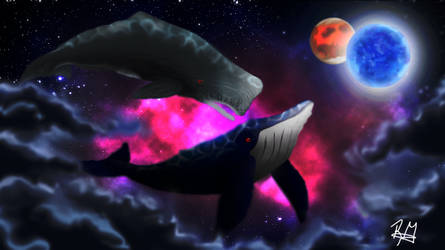Flying Whales (From Mars to Sirius)