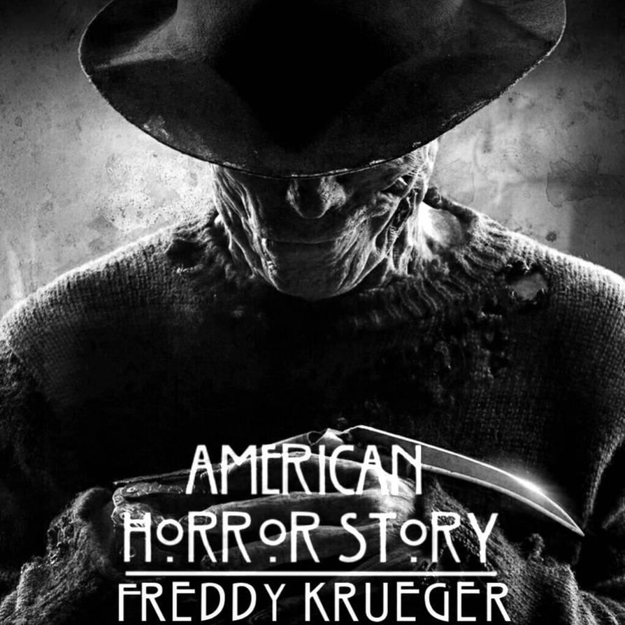 American Horror story Freddy Krueger letters me by XItsTommyX on