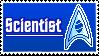 Stamp 005 - Star Trek Scientists