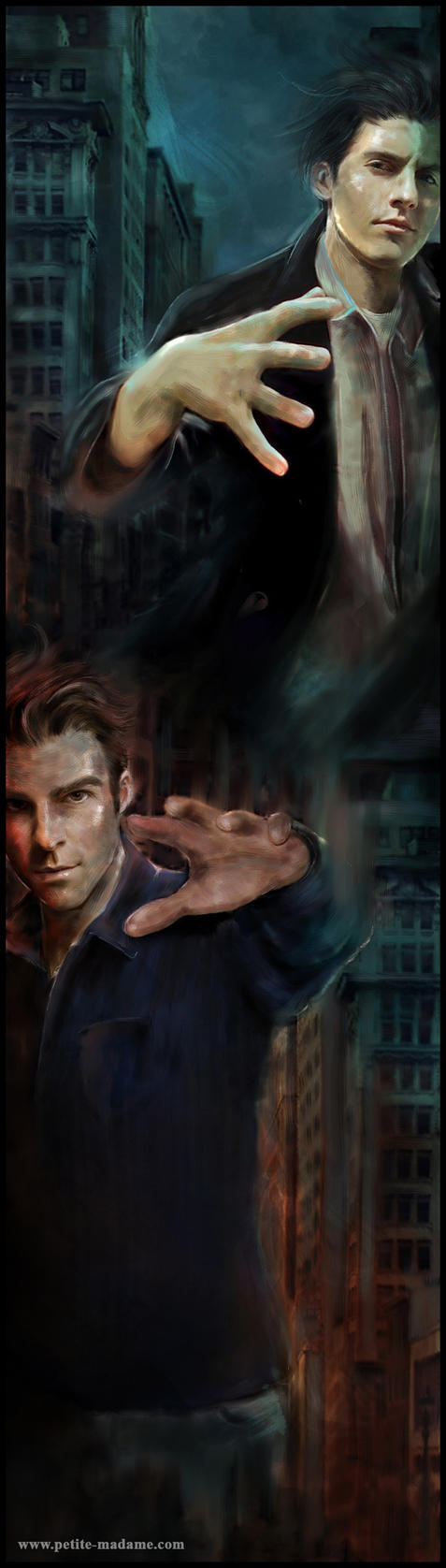 Heroes - Peter Vs Sylar by Petite-Madame
