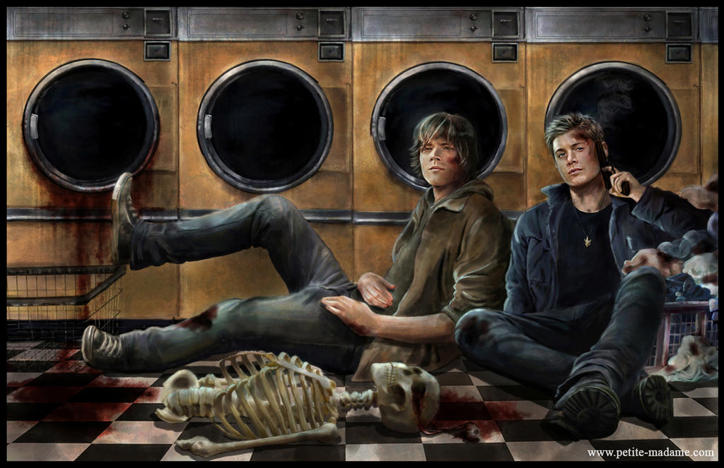 Winchesters' Laundry Day by Petite-Madame
