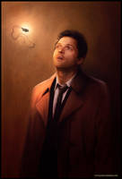 Castiel - God, are you there? by Petite-Madame