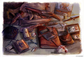 Winchesters' Survival Kit by Petite-Madame
