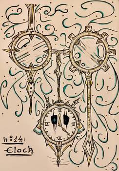 Inktober 14 : clock
