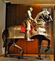 Knight on horse 1 by ApteryxStock