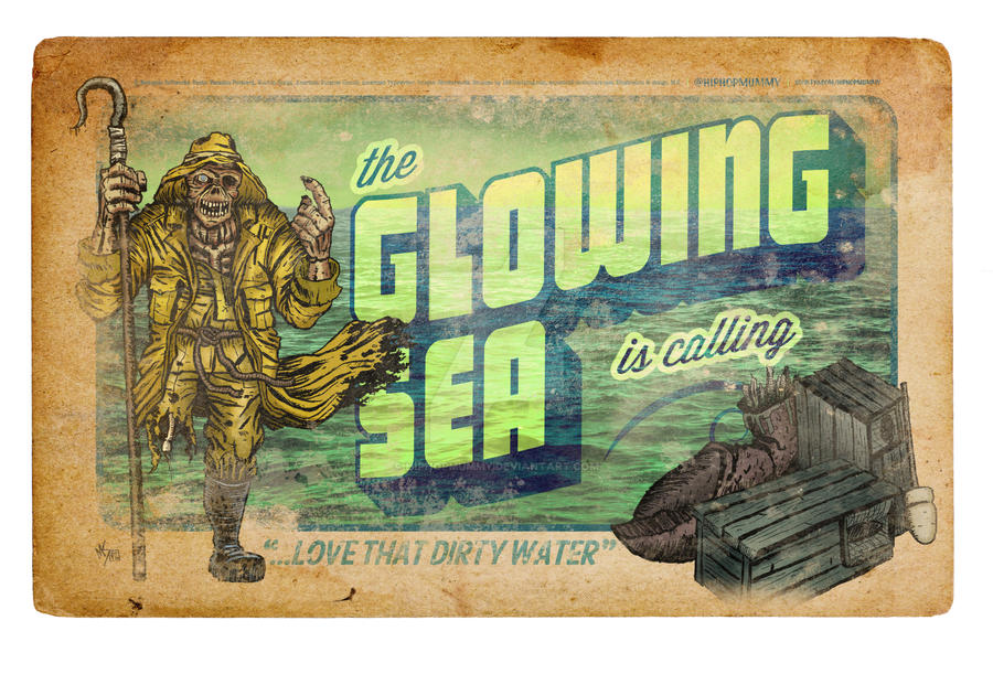 Greetings from the Glowing Sea