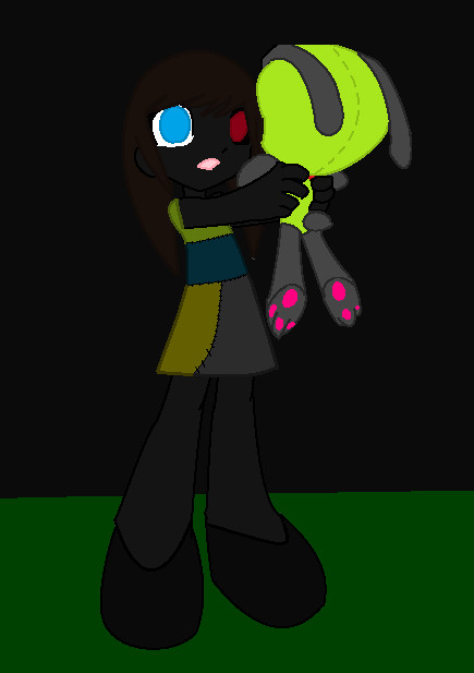 Patch the adopoted daughter of jack skeliton by Firegirl1015