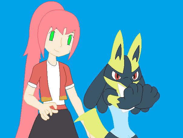 Pokemon Ranger Blossom and Shimmer by Firegirl1015