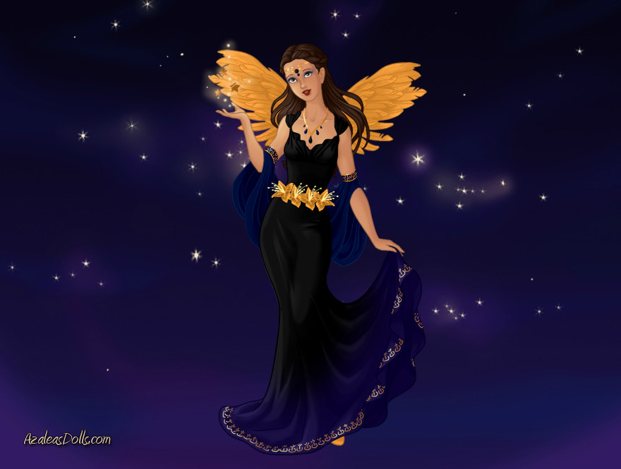Astra goddess of the Stars by Firegirl1015