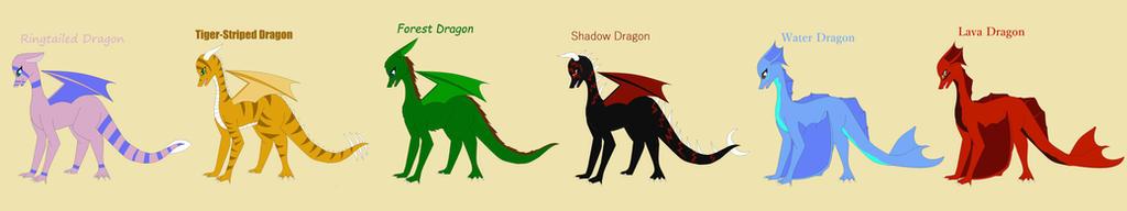 Dragons by Firegirl1015