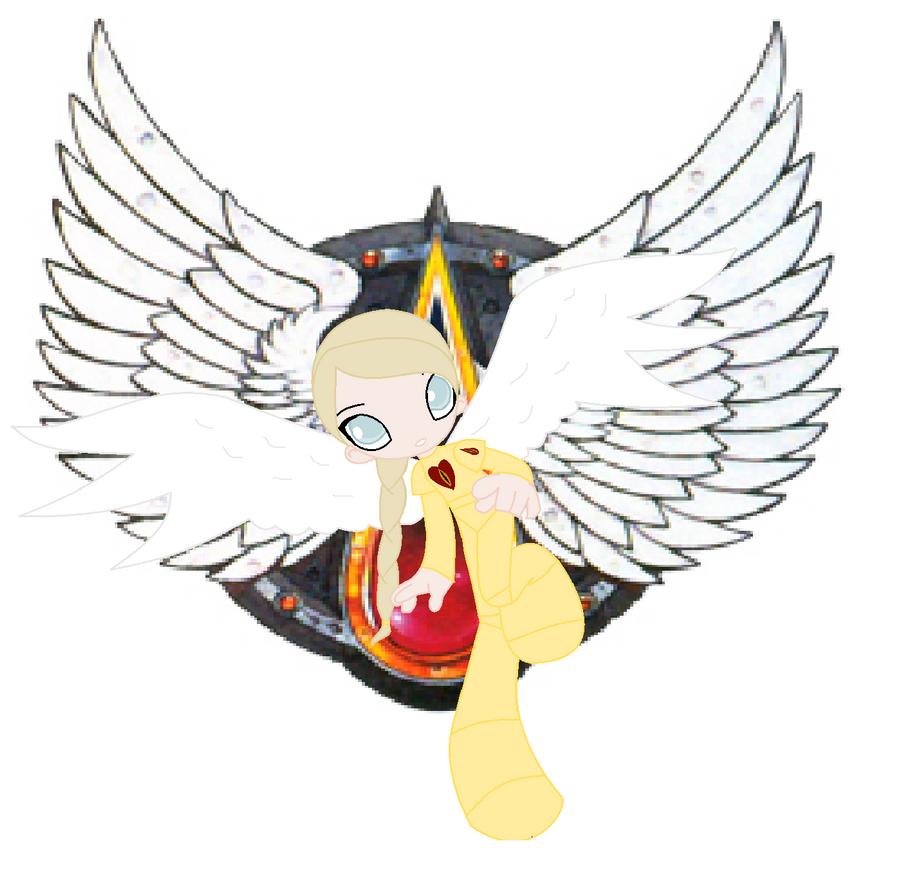 Angelica daughter of Sanguinius by Firegirl1015