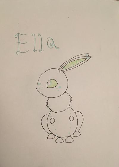 Ella the Robbit  by Firegirl1015