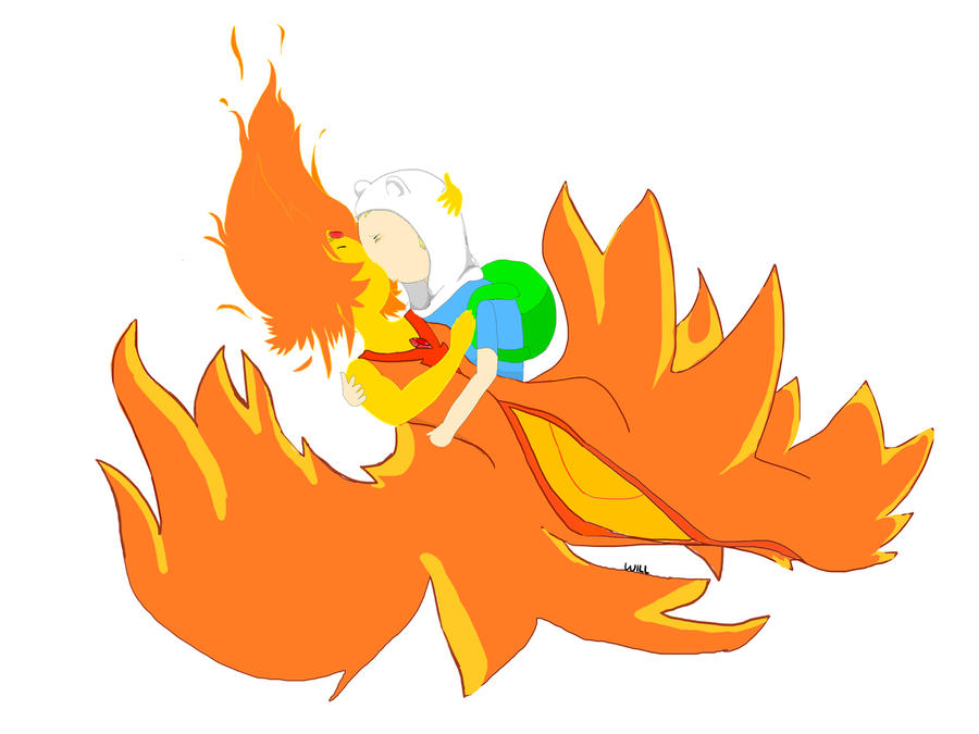 Flame x Finn by Willroy