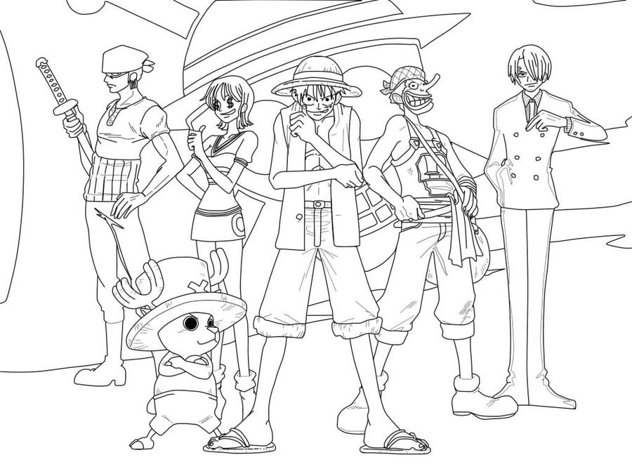 one piece drawing by star641000