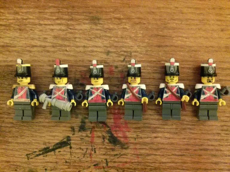 Lego Napoleonic Wars 9th British Light Dragoons by jamerson1