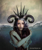Queen of the depth by anakurpek