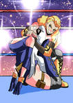 Elizabeth vs Arianne - Pride Lock!