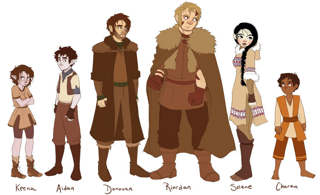 Either Art 78 3 TLOE Character Lineup Pt 1 By Brusierkee