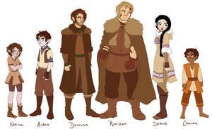 TLOE Character Lineup Pt. 1