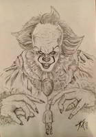 Pennywise by Halfbloodprinzess