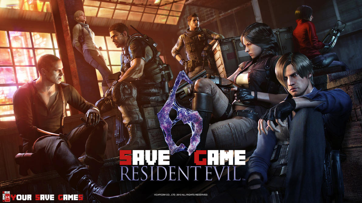 Resident Evil 6 (100% PC Save Game) by YourSaveGames