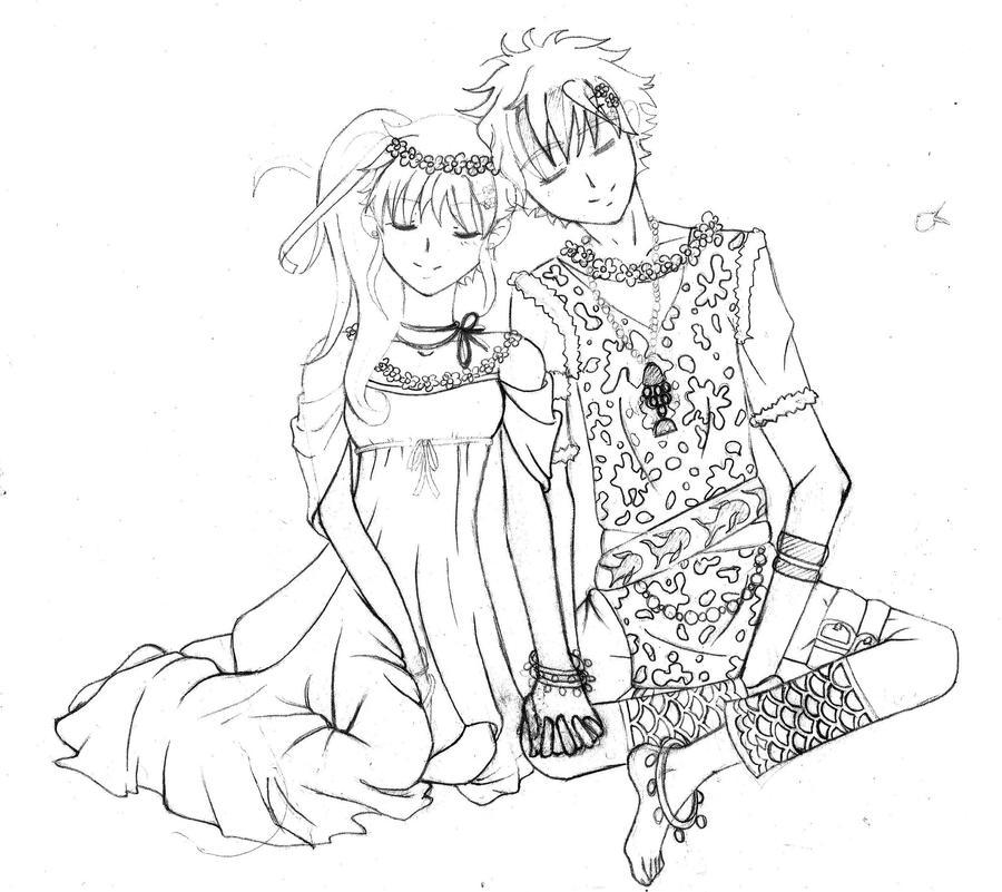 Mizu and Hikaru by Maquilishuat-san