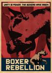Boxer Rebellion. The boxers have risen.