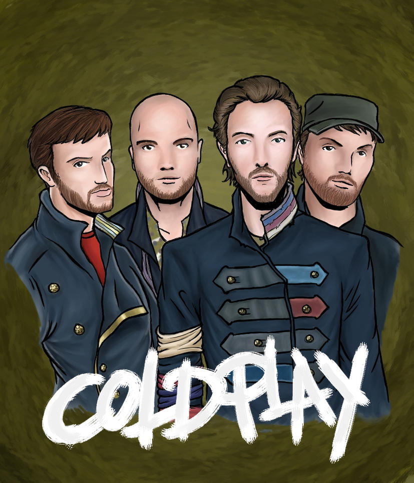 Coldplay by MaxPaucar92