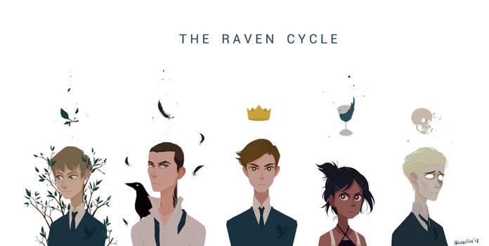 The Raven Cycle (wallpaper)