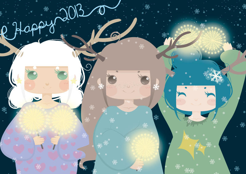 Happy 2013 by Rowie-Ann