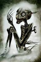 Creepy doll by SHADE-LJ