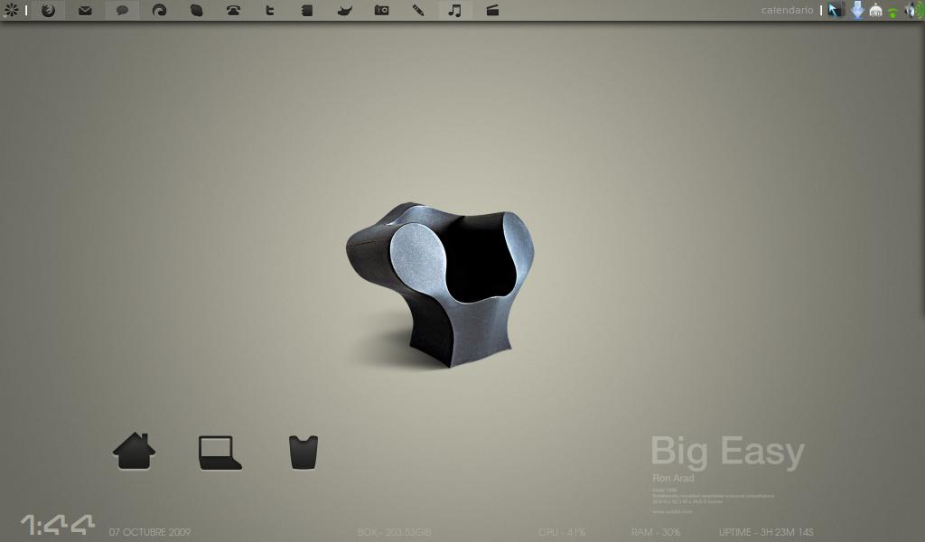 Big Easy Netbook Desktop by aymaraceci
