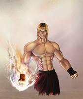 Ken Masters - Street Fighter by herculesfilho