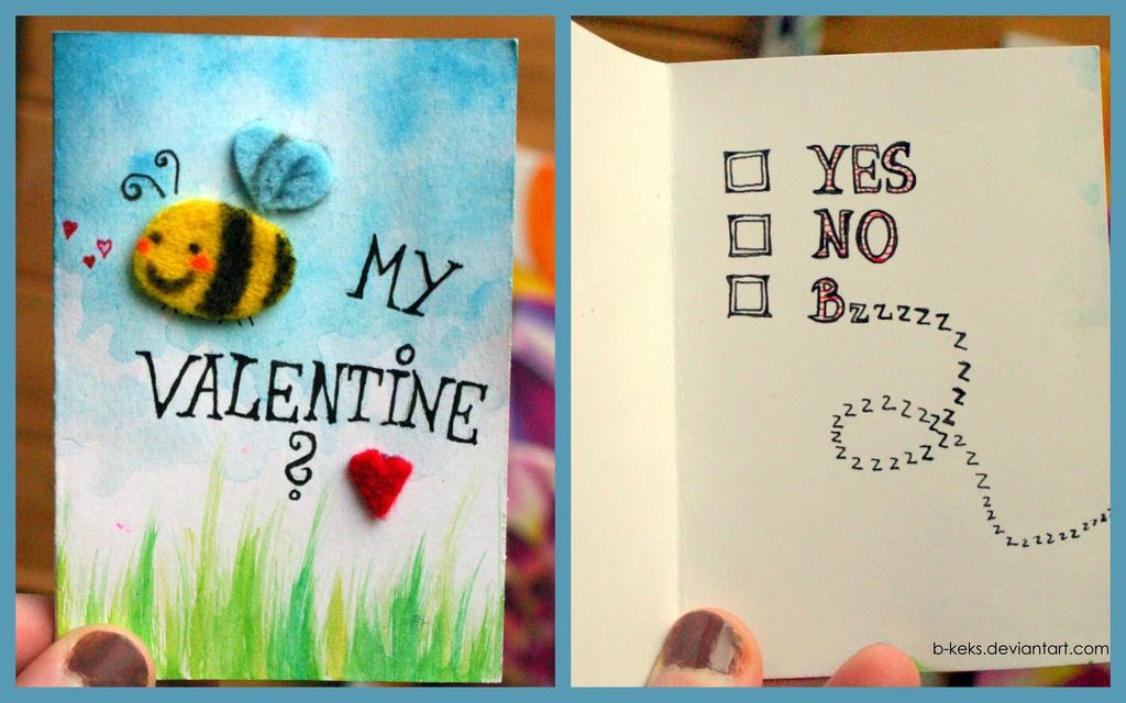 Be(e) my Valentine? by B-Keks