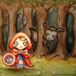 Little Red Riding Steve