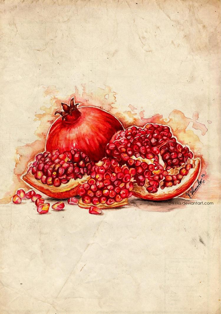 Pomegranate by B-Keks