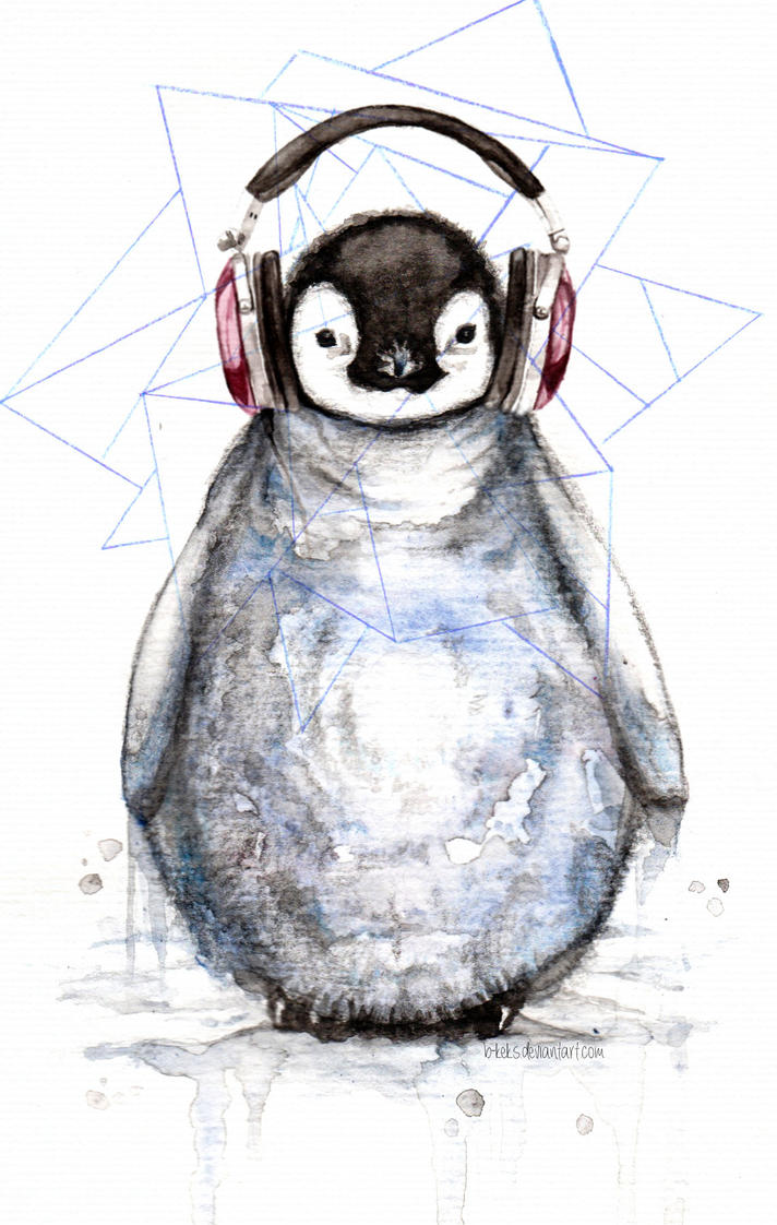 Music Penguin 2.0 by B-Keks