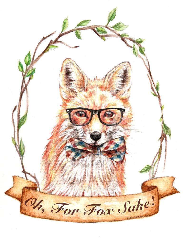 For Fox Sake by B-Keks