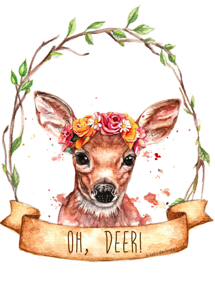 Oh Deer by B-Keks