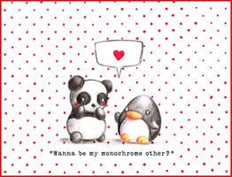 Valentine's Penguin 2017