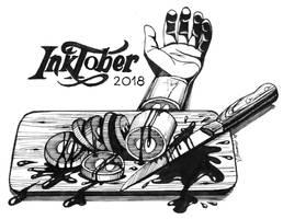 Inktober 2018: Day 31 - Slice