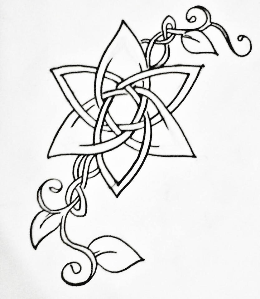 how to draw celtic art